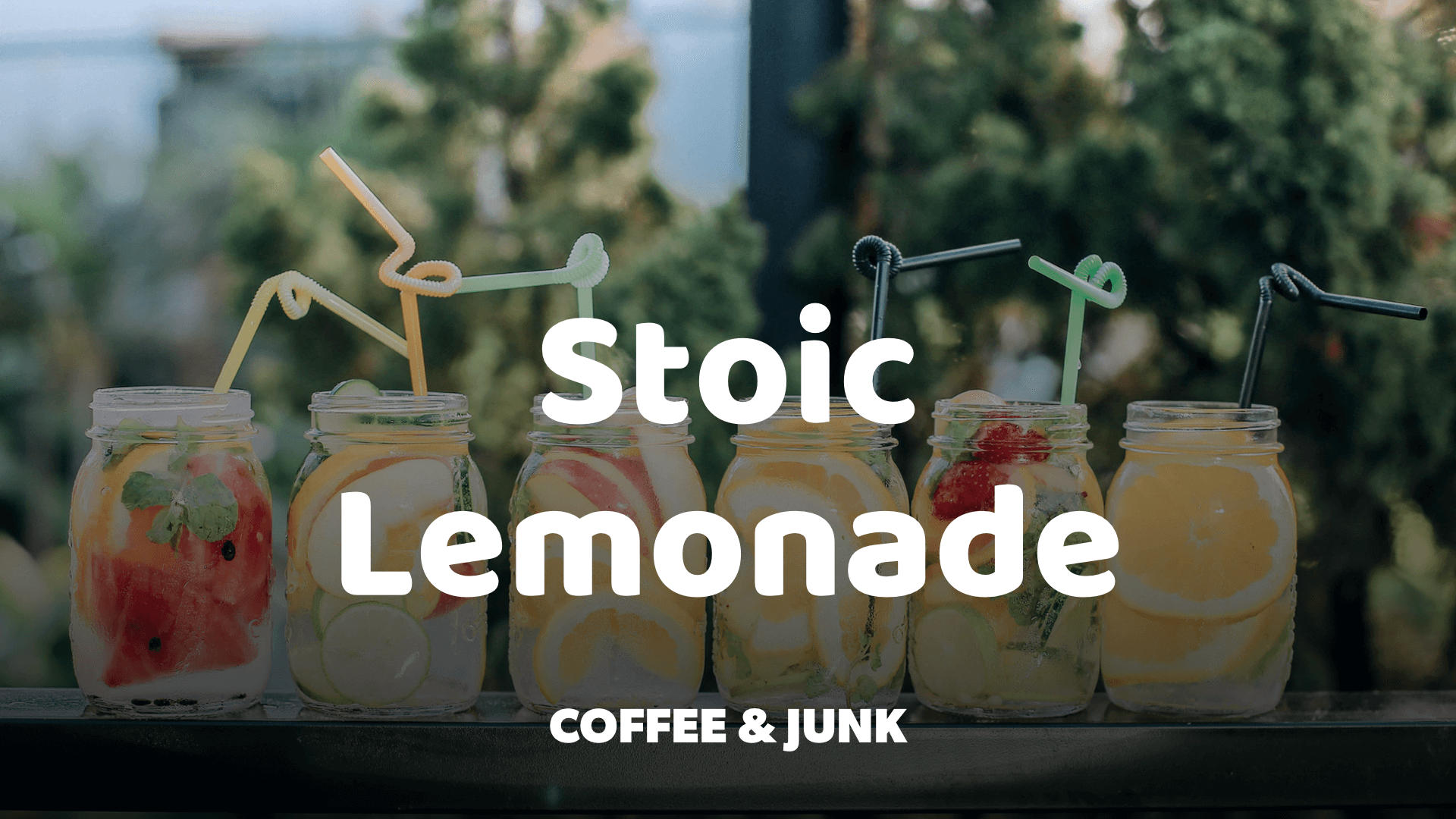 When Life Gives You Lemons, Make a Stoic Lemonade